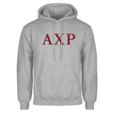 Grey Fleece Hoodie-AXP