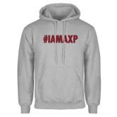 Grey Fleece Hoodie-#IAMAXP