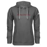 Adidas Climawarm Charcoal Team Issue Hoodie-Alpha Chi Rho