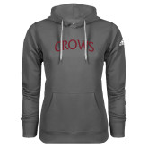 Adidas Climawarm Charcoal Team Issue Hoodie-Crows Arched