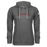 Adidas Climawarm Charcoal Team Issue Hoodie-Alpha Chi Rho Arched