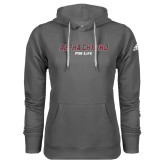 Adidas Climawarm Charcoal Team Issue Hoodie-Alpha Chi Rho For Life