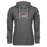 Adidas Climawarm Charcoal Team Issue Hoodie-Alpha Chi Rho AXP