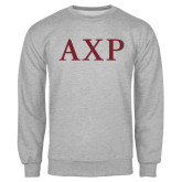 Grey Fleece Crew-AXP