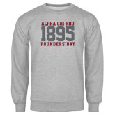 Grey Fleece Crew-Founders Day 1895