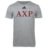 Adidas Sport Grey Logo T Shirt-AXP