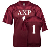 Replica Maroon Adult Football Jersey-