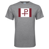 Grey T Shirt-Flag