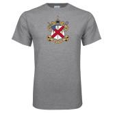 Grey T Shirt-Crest