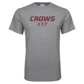 Grey T Shirt-Crows AXP