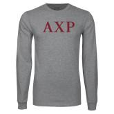 Grey Long Sleeve T Shirt-AXP