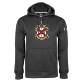 Under Armour Carbon Performance Sweats Team Hoodie-Crest