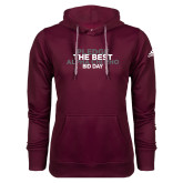 Adidas Climawarm Maroon Team Issue Hoodie-Pledge The Best