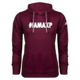 Adidas Climawarm Maroon Team Issue Hoodie-#IAMAXP