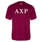 Performance Maroon Tee-AXP
