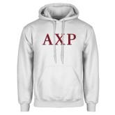 White Fleece Hoodie-AXP