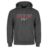Charcoal Fleece Hoodie-Crows AXP