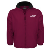 Maroon Survivor Jacket-AXP