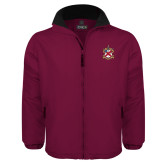 Maroon Survivor Jacket-Crest