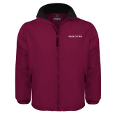 Maroon Survivor Jacket-Alpha Chi Rho