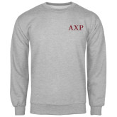 Grey Fleece Crew-AXP