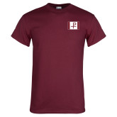 Maroon T Shirt-Flag