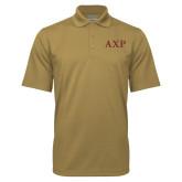 Vegas Gold Mini Stripe Polo-AXP