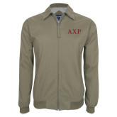 Khaki Players Jacket-AXP