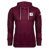 Adidas Climawarm Maroon Team Issue Hoodie-Flag