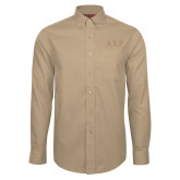Red House Tan Long Sleeve Shirt-AXP Tone