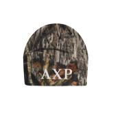 Mossy Oak Camo Fleece Beanie-AXP