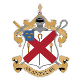 Large Magnet-Crest, 12 in Tall