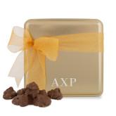Decadent Chocolate Clusters Gold Medium Tin-AXP Engraved