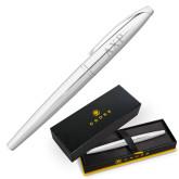 Cross ATX Pure Chrome Rollerball Pen-AXP Engraved