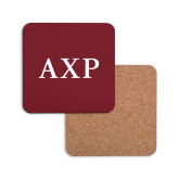 Hardboard Coaster w/Cork Backing-AXP