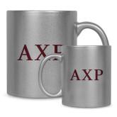 Full Color Silver Metallic Mug 11oz-AXP