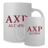 Alumni Full Color White Mug 15oz-AXP