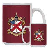 Alumni Full Color White Mug 15oz-Crest