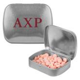 Silver Rectangular Peppermint Tin-AXP