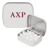 White Rectangular Peppermint Tin-AXP
