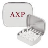 White Rectangular Peppermint Tin-AXP