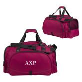 Challenger Team Maroon Sport Bag-AXP