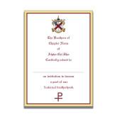 Personalized Bid Card 7 x 5 w/Blank Envelope-