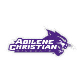 ACU Wildcat Medium Decal-Primary Logo, 8 inches wide