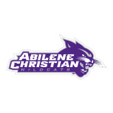 ACU Wildcat Large Decal-Primary Logo, 12 inches wide