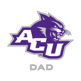 Abilene Christian Dad Decal-Dad, 6 inches wide