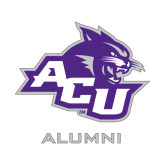 ACU Wildcat Alumni Decal-Alumni, 6 inches wide