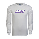 White Long Sleeve T Shirt-ACU