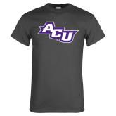 ACU Wildcat Charcoal T Shirt-Angled ACU
