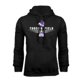 Black Fleece Hoodie-Track and Field Shoe Design